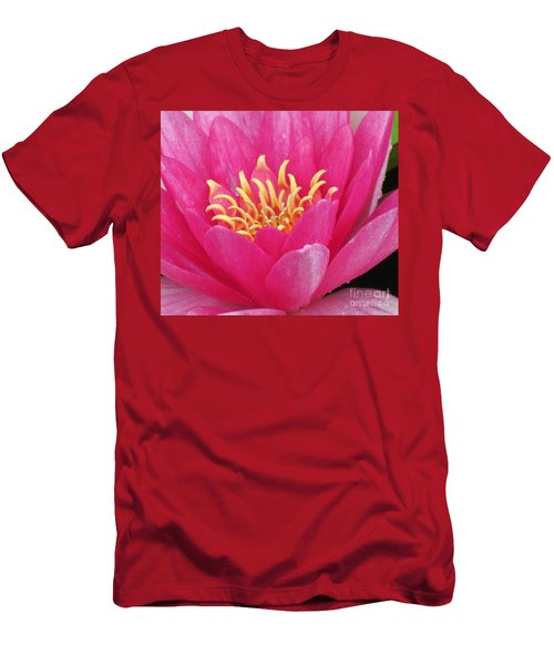 Perry's Fire Opal Water Lily Men's T-Shirt (Athletic Fit)