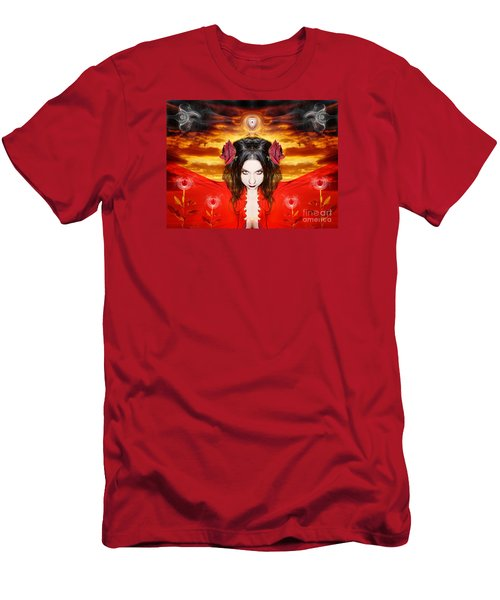 Men's T-Shirt (Slim Fit) featuring the photograph Persephone Do I Invoke by Heather King