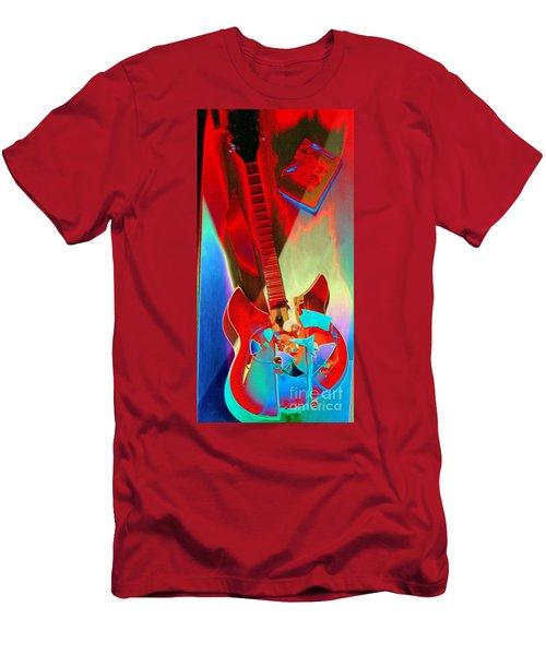 Pete's Guitar Men's T-Shirt (Athletic Fit)