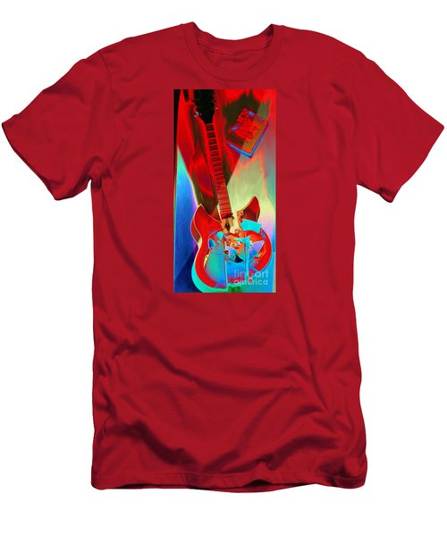 Pete's Guitar Men's T-Shirt (Athletic Fit)