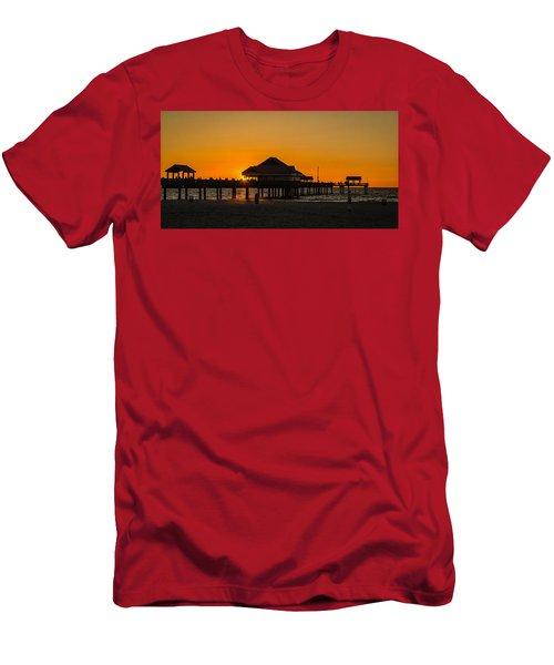 Pier 60 Sunset Men's T-Shirt (Athletic Fit)