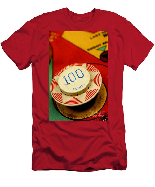Pinball Machine Men's T-Shirt (Athletic Fit)
