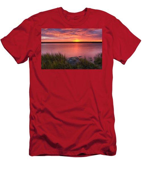 Pink Marsh Men's T-Shirt (Athletic Fit)