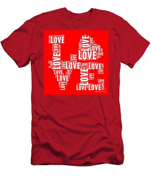 Pop Love 6 Men's T-Shirt (Athletic Fit)
