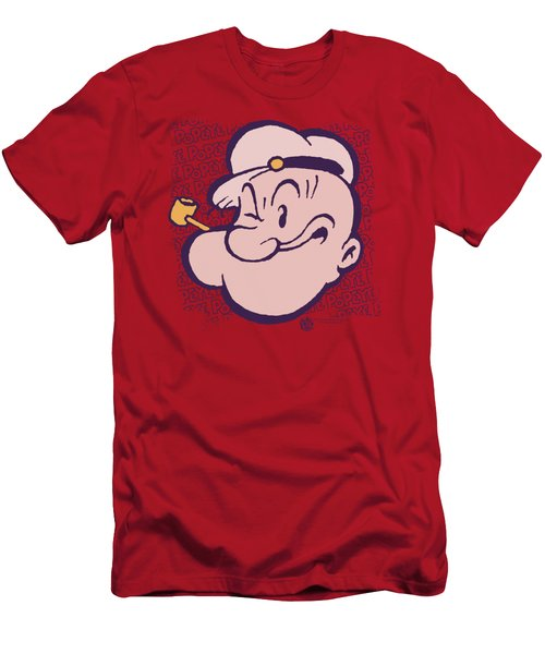 Popeye - Head Men's T-Shirt (Slim Fit) by Brand A