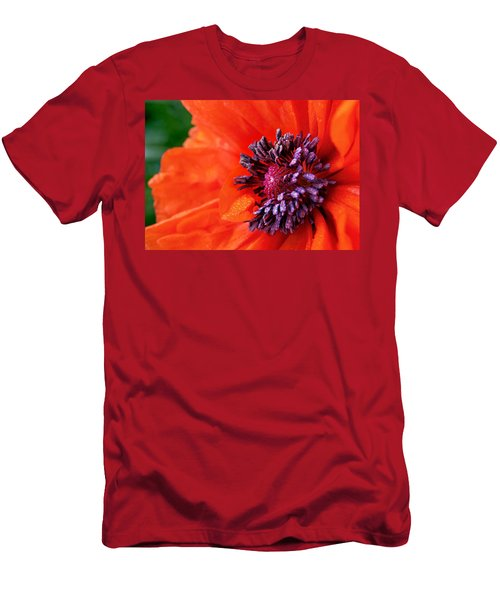 Poppy's Purple Passion Men's T-Shirt (Athletic Fit)