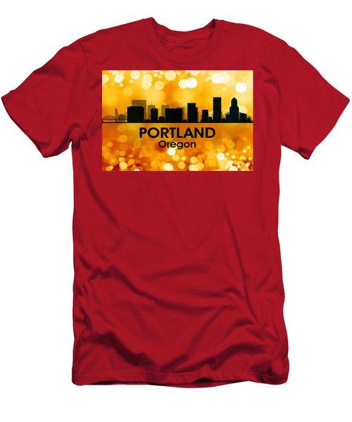 Portland Or 3 Men's T-Shirt (Athletic Fit)