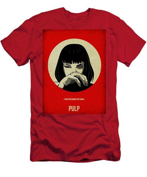 Pulp Fiction Poster Men's T-Shirt (Athletic Fit)