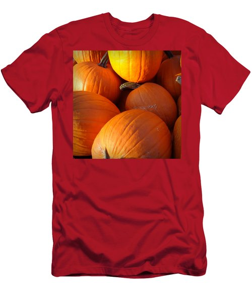 Men's T-Shirt (Slim Fit) featuring the photograph Pumpkins by Joseph Skompski