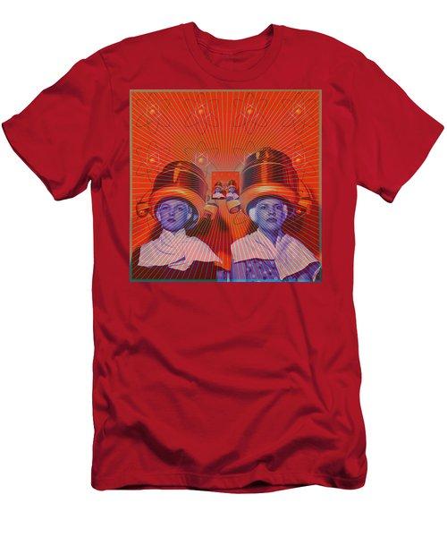 Radiant Men's T-Shirt (Slim Fit) by Sasha Keen