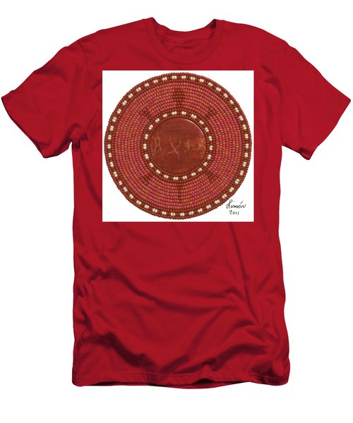 Red Coral Men's T-Shirt (Athletic Fit)