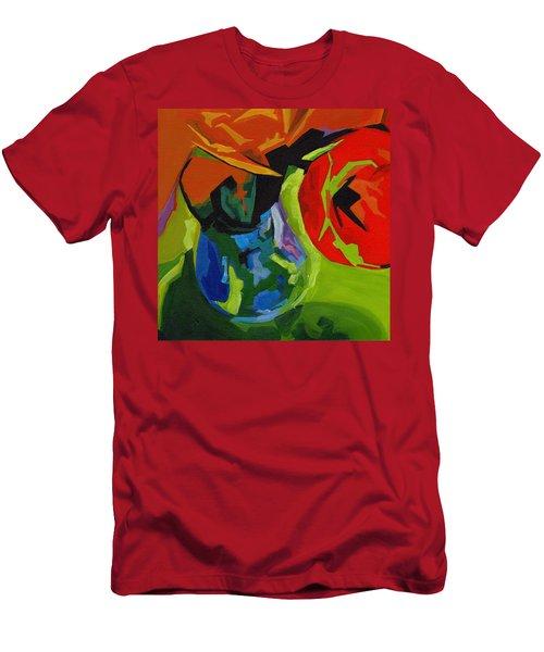 Red Tulip Men's T-Shirt (Athletic Fit)
