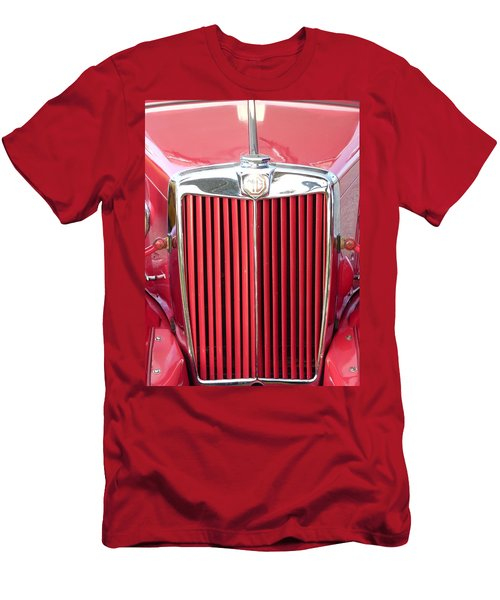 Red Mg Men's T-Shirt (Athletic Fit)