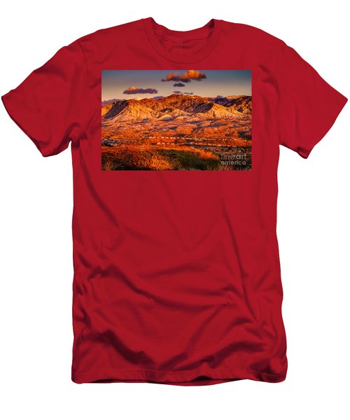 Men's T-Shirt (Slim Fit) featuring the photograph Red Planet by Mark Myhaver