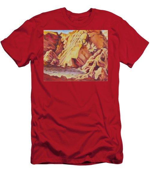 Red Rocks Men's T-Shirt (Athletic Fit)