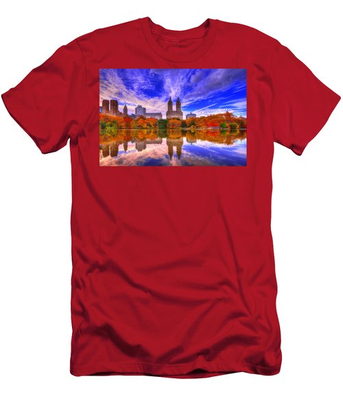 Reflection Of City Men's T-Shirt (Athletic Fit)