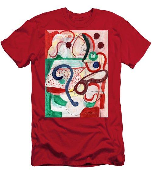Reflective #6 Men's T-Shirt (Athletic Fit)