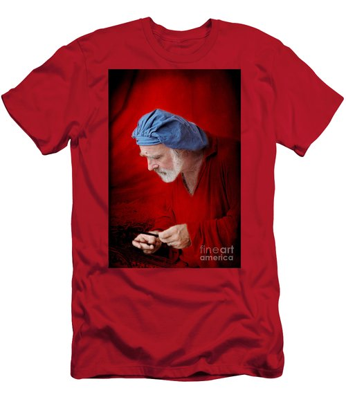 Renaissance Music Man Men's T-Shirt (Athletic Fit)
