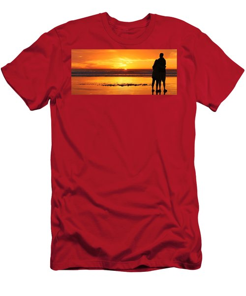 Romantic Sunset  Men's T-Shirt (Athletic Fit)