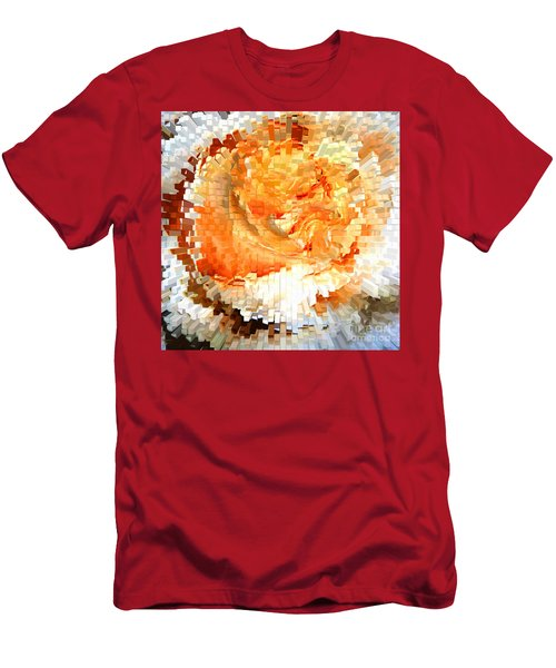 Rose In Bloom Men's T-Shirt (Athletic Fit)