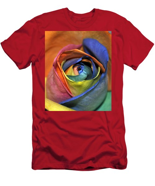 Rose Of Equality Men's T-Shirt (Athletic Fit)
