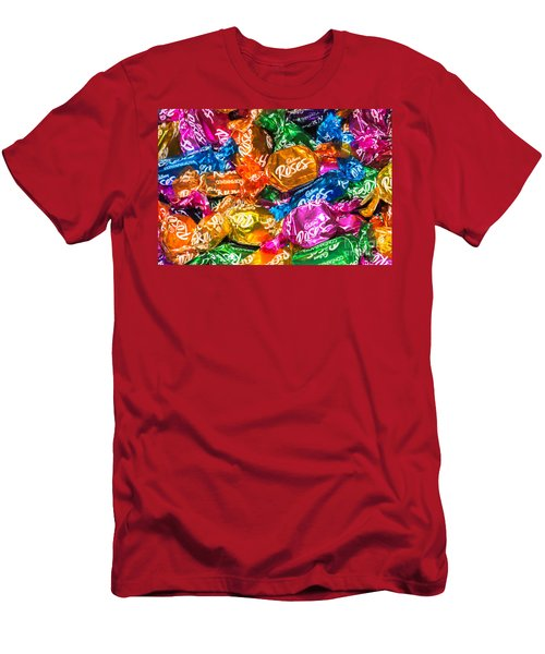 Roses Sweets Men's T-Shirt (Athletic Fit)