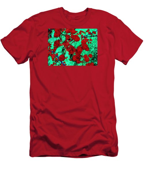 The Red Roses Men's T-Shirt (Athletic Fit)