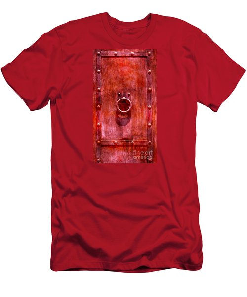 Men's T-Shirt (Slim Fit) featuring the photograph Rust Never Sleeps by John  Kolenberg