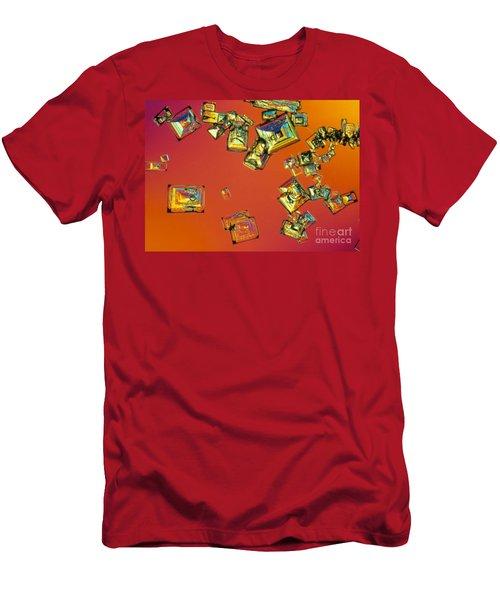 Salt Crystals Men's T-Shirt (Athletic Fit)