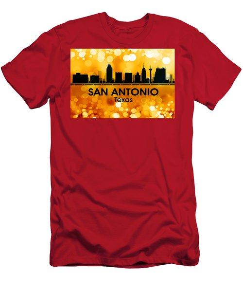 San Antonio Tx 3 Men's T-Shirt (Athletic Fit)
