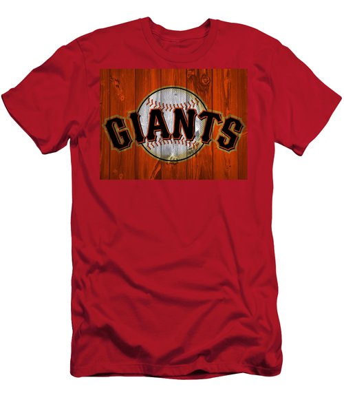 San Francisco Giants Barn Door Men's T-Shirt (Athletic Fit)