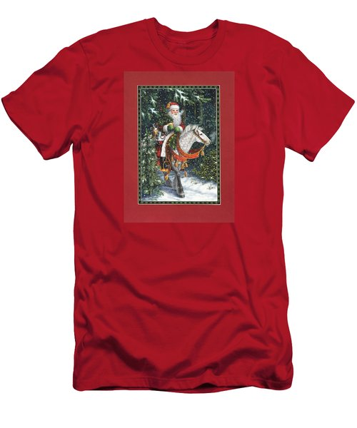 Santa Of The Northern Forest Men's T-Shirt (Athletic Fit)