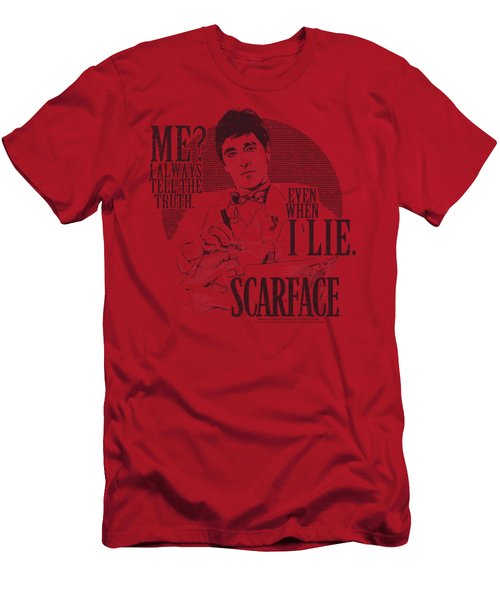 Scarface - Truth Men's T-Shirt (Athletic Fit)