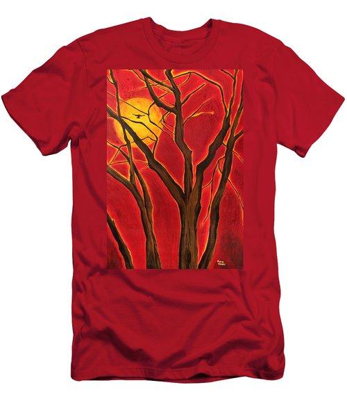 Scorpio Sun By Jaime Haney Men's T-Shirt (Athletic Fit)