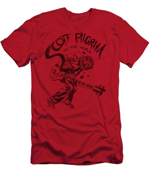 Scott Pilgrim - Rockin Men's T-Shirt (Athletic Fit)