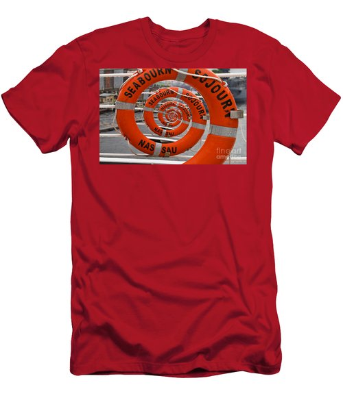 Seabourn Sojourn Spiral. Men's T-Shirt (Athletic Fit)