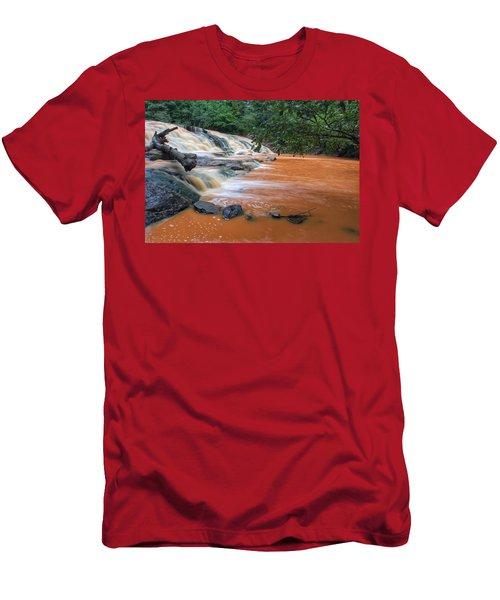Shacktown Falls Men's T-Shirt (Athletic Fit)