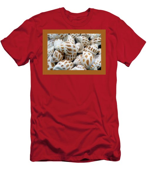 Shells - 7 Men's T-Shirt (Slim Fit) by Carla Parris
