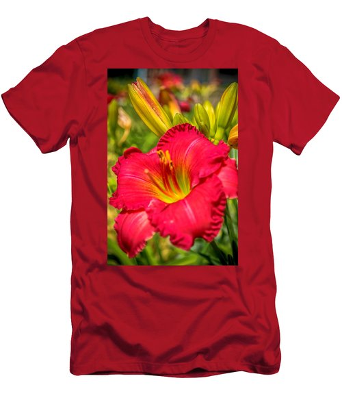 Simple Lily Men's T-Shirt (Athletic Fit)