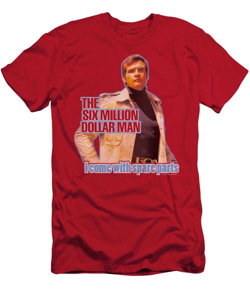 Six Million Dollar Man - Spare Parts Men's T-Shirt (Athletic Fit)