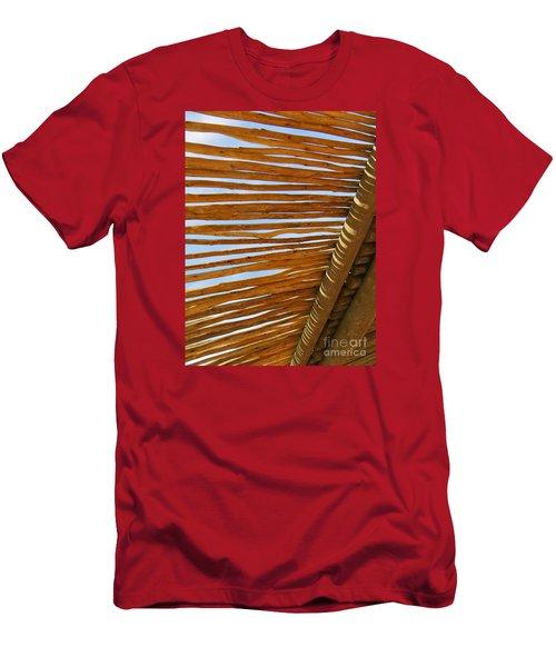 Sky-lined  Men's T-Shirt (Slim Fit) by Joy Hardee