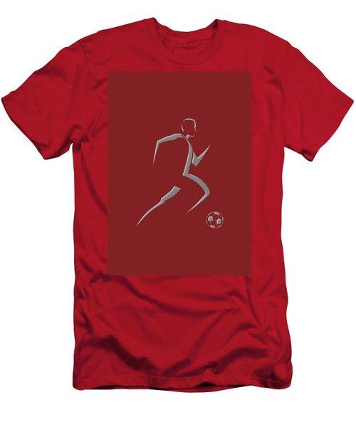 Soccer Player9 Men's T-Shirt (Athletic Fit)