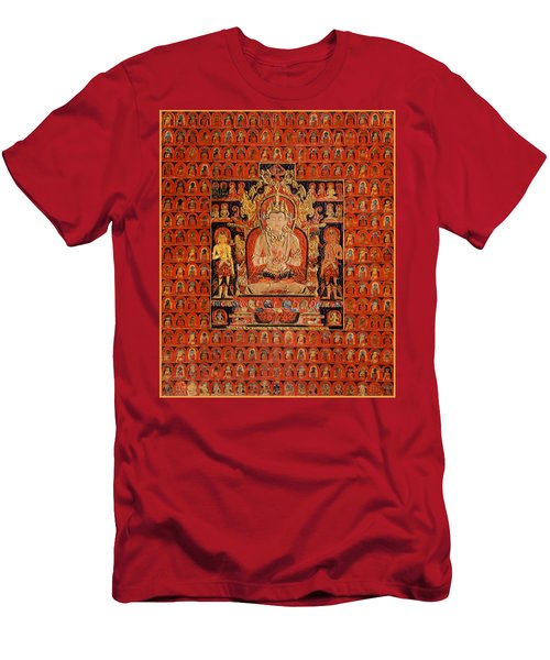 South East Asian Art Men's T-Shirt (Athletic Fit)