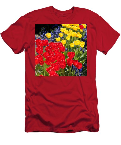 Spring Sunshine Men's T-Shirt (Slim Fit)