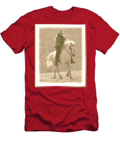 Stallion Strides Men's T-Shirt (Athletic Fit)