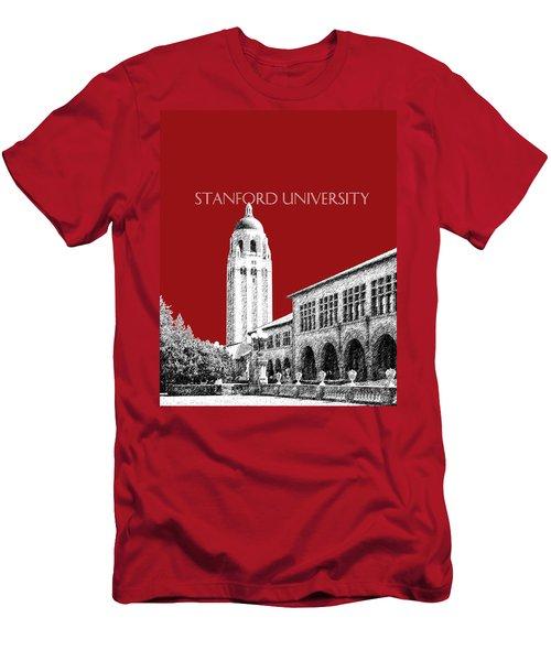 Stanford University - Dark Red Men's T-Shirt (Athletic Fit)