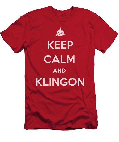 Star Trek - Calm Klingon Men's T-Shirt (Athletic Fit)