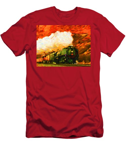 Steam And Sandstone Men's T-Shirt (Athletic Fit)