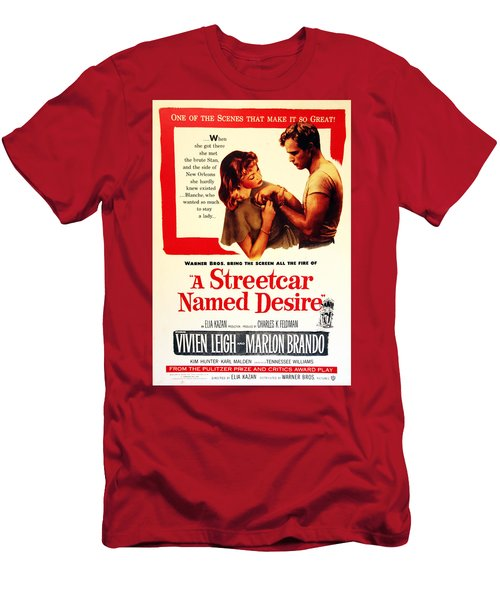 Stellaaaaa - A Streetcar Named Desire Men's T-Shirt (Athletic Fit)
