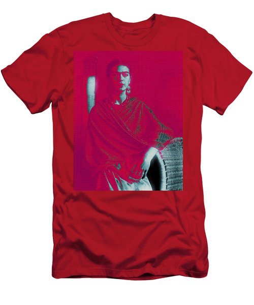Strange Frida Men's T-Shirt (Athletic Fit)